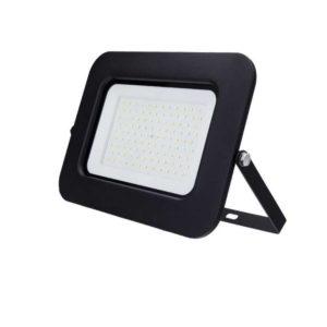 100W LED spotlight schijnwerpers koud wit 6000K zwart