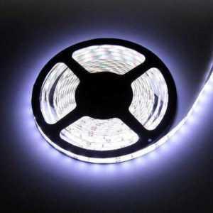 5m LED-Streifen 12V 3528 kaltweiß 6000K 4,8W IP20