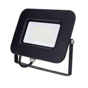 50W LED schijnwerper SMD neutraal wit 4500K zwart