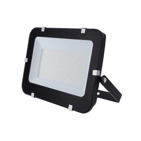 150W LED Fluter Strahler kaltweiss 6000K schwarz