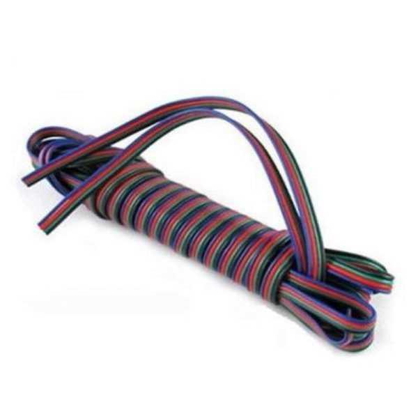 1m 4 poliges Kabel für RGB LED Streifen