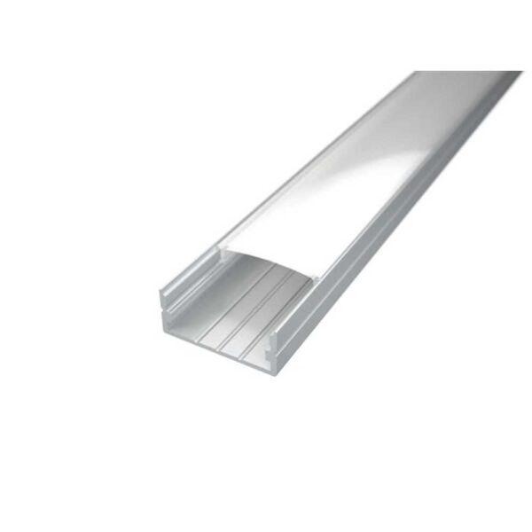 2m-led-aufputzprofil-doppelt-20mm-silber-inkl-abdeckung-endkappen-und-montageklammern