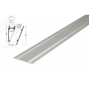 2m-led-wandprofil-v-silber-10mm-frontblende