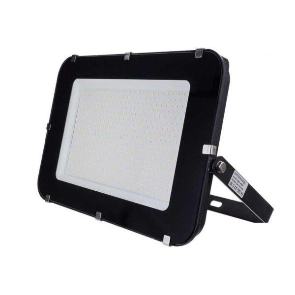 300W LED Fluter Strahler neutralweiss 4500K schwarz