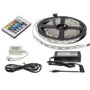 5M LED Streifen RGB Set 72W 300LEDs IP20