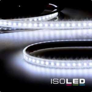Isoled 15m LED Streifen, 24V, 12W, IP67, kaltweiss
