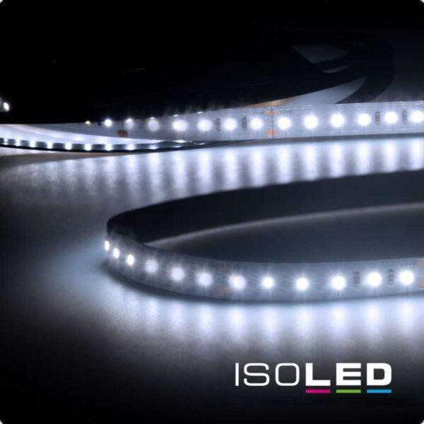Isoled 15m LED Streifen, 24V, 12W/m, IP20, kaltweiss