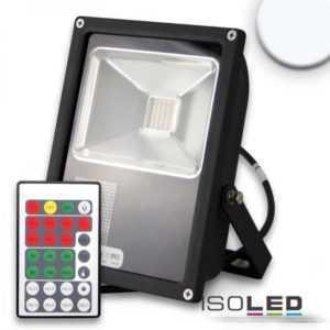 Isoled LED Fluter mit HF-Bewegungssensor 35W,