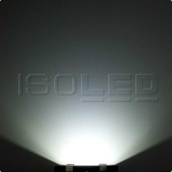 Isoled LED Fluter mit HF-Bewegungssensor 35W, kaltweiß 110°, schwarz, IP65