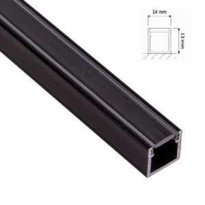 led-aufputzprofil-leiste-hoch-schwarz-2m-inkl-klarer-abdeckung