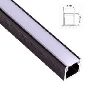 led-aufputzprofil-leiste-hoch-schwarz-2m-inkl-opal-abdeckung