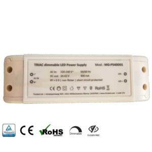 LED Treiber dimmbar für 36 und 40W LED Panele