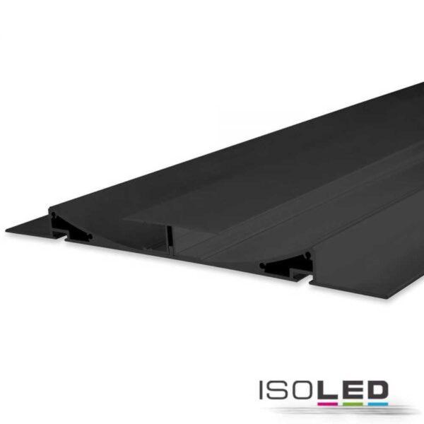 led-trockenbauprofil-schwarz-eloxiert-200cm-inkl-opal-abdeckung