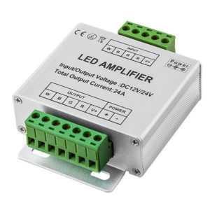 RGBW LED Signalverstärker Repeater 12-24V 24A 288W – 576W PWM
